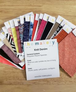 Knit Fabric Swatch Kit